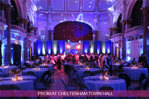 Prom at Cheltenham Town Hall
