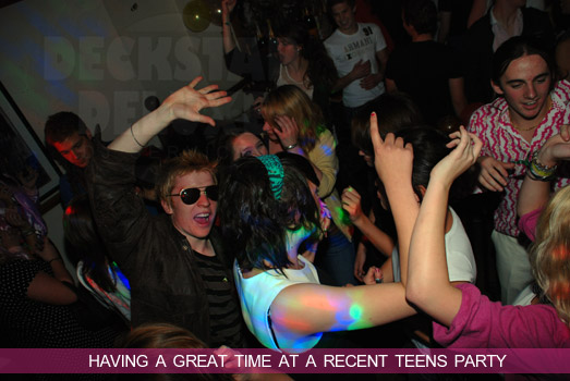 Teens Party Fun in Gloucester with Deckstar Deluxe