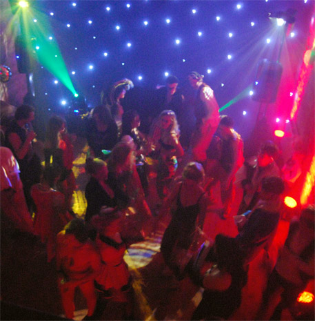 Deckstar Deluxe disco entertainment for young adults and milestone birthdays (16th, 18th, 21st)
