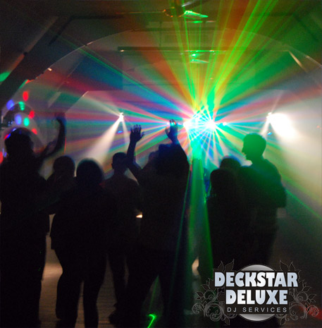Disco parties for kids, toddlers, teens and schools by Deckstar Deluxe of Cheltenham